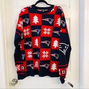 Ugly Sweater-NFL Patriots